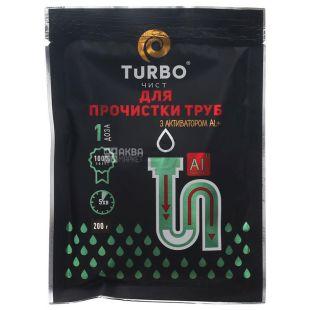 Turbo, Засіб для прочищення труб в гранулах, 200 г