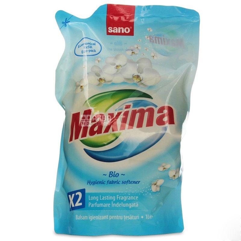 Sano Maxima Био, Ополаскиватель для белья, 1 л