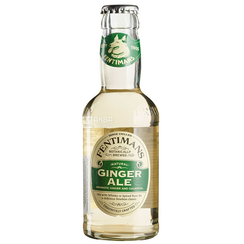 Fentimans Ginger Ale, Carbonated Drink 0.2 L