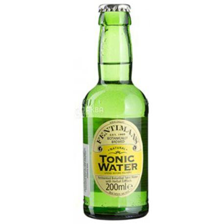 Fentimans,Tonic Water, 0,2 л, Фентиманс, Классический, Тоник травяной, безалкогольный, стекло