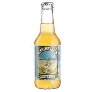 NaturFrisk, Ginger Ale, 0,25 л, Натурфриск, Имбирный эль, напиток газированный, органический, стекло