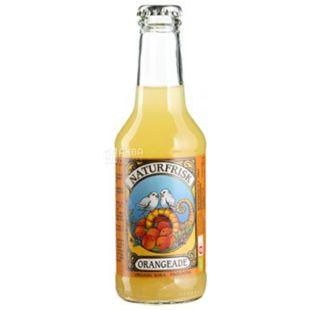 NaturFrisk, Apelsinbrus, 0,25 л, Натурфриск, Апельсин, Напиток соковый, газированный, органический, стекло