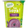 Sojade So Soya Blueberry Organic, 125 г, Сояде, Йогурт соевый органический, черника, без глютена и лактозы