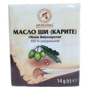 Масло растительное натуральное Ши Ароматика, 15 мл