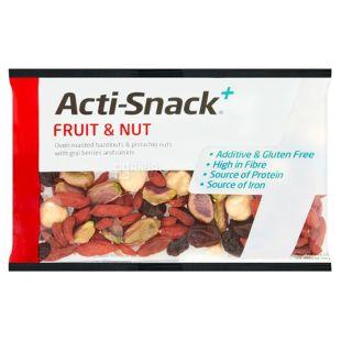 Смесь фруктово-ореховая, 40 г, ТМ Acti-Snack
