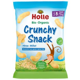 Holle, Organic Wheat Snacks, for children from 8 months, 25 g