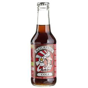 NaturFrisk, Cola Cool, 0,25 л, Натурфриск, Кола, Напиток органический, газированный, стекло