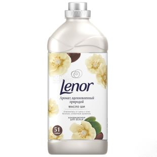 Lenor Кондиционер для белья Масло Ши, 1,8 л