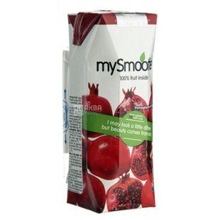 MySmoothie, Pomegranate, Гранатовый, 0,25 л, Майсмузи, Смузи натуральный