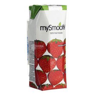 MySmoothie, Strawberry, Клубничный, 0,25 л, Майсмузи, Смузи натуральный