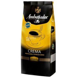 Ambassador Crema, 1 кг, Кофе в зернах Амбассадор Крема