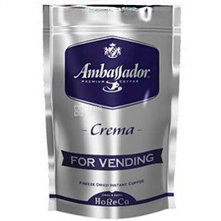 Ambassador Crema, 200 г, Кофе растворимый Амбассадор Крема, для вендинга