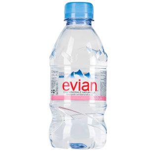 Evian, Вода негазированная, 0,33 л, ПЭТ