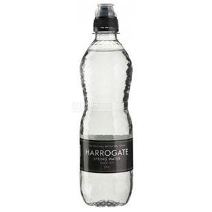 Harrogate Вода минеральная негазированная с крышкой спорт-кап, 0,5 л