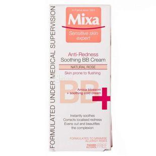Крем для кожи лица против покраснений, Успокаивающий, 50 мл, ТМ MIXA