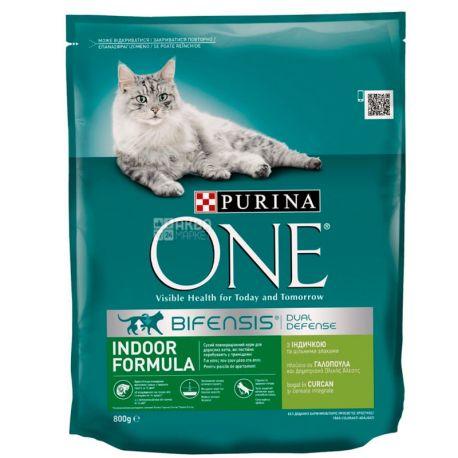 Purina One, Сухий корм для котів, 800 г