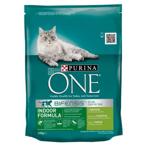 Purina One, Сухий корм для котів, 200 г