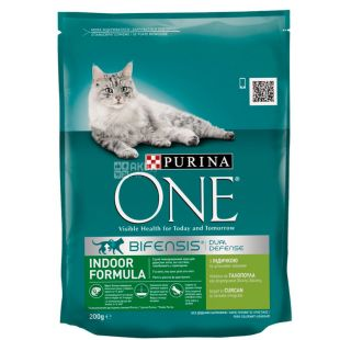 Purina One, Сухой корм для котов, 200 г