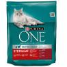 Purina One, Сухой корм для котов с говядиной, Sterilcat, 800 г