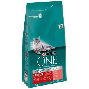Purina One, Сухой корм для котов, 1,5 кг