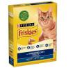 Friskies Sterilised Корм для котов сухой С лососем и овощами, 270 г