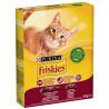 Friskies, Корм для котів сухий З яловичиною, куркою і овочами для дорослих кішок, 300 г
