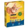 Friskies, Корм для котів сухий З лососем і овочами для дорослих кішок, 300 г