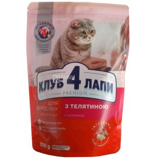 Dry food for cats, 300 g, TM 4 Paws