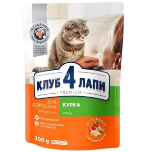 Dry food for kittens, 300 g, TM 4 Paws