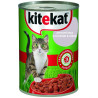 Kitekat, Canned cat food with duck in jelly, 400 g