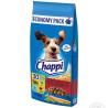 Chappi, Корм сухий для собак зі смаком яловичини, птиці та овочів, 13,5 кг