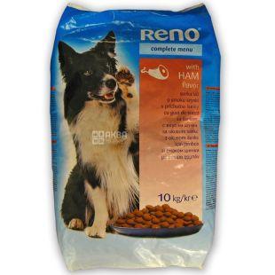Reno, Сухий корм для собак, шинка, 10 кг