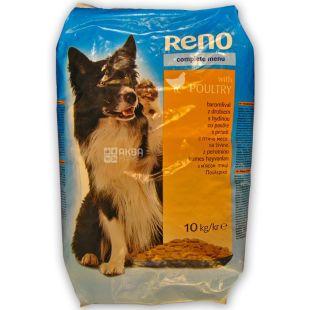 Dry dog food, Poultry meat, 10 kg, TM Reno