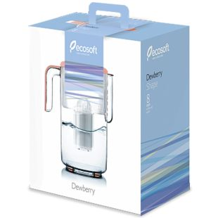 Ecosoft Dewberry Shape Фільтр-глечик, 3,5 л