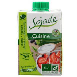 Sojade Cuisine Organic, 200 мл, Сояде, Соєві вершки, кулінарні, органічні, безлактозні