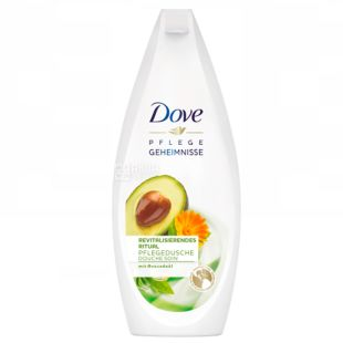 Dove Inspirational, Shower Gel with avocado oil and calendula extract, 250 ml