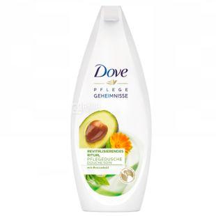 Dove Вдохновляющий, Гель для душа с маслом авокадо и экстрактом календулы, 250 мл