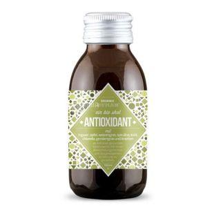 Organic Human, Bio shot Antioxidant, 0,1 л, Органик Хьюмен, Антиоксидантный шот c имбирем и травами, Напиток соковый, органическ