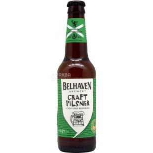 Belhaven Craft Pilsner, Kraft light filtered beer, 0.33 l