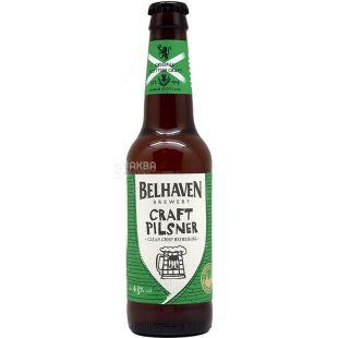 Belhaven Craft Pilsner, Пиво крафтовое светлое фильтрованное, 0,33 л