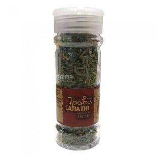Seasoning Herbs lettuce organic, 15 g, TM Live Earth Potutory