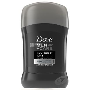 Dove Men Care Invisible Dry, Дезодорант-Антиперспирант, 50 мл