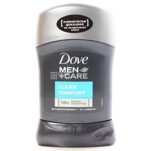 Dove Men Care Clean Comfort, Дезодорант-Антиперспірант, 50 мл