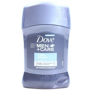 Dove Men Care Cool Fresh, Дезодорант-Антиперспірант, 50 мл