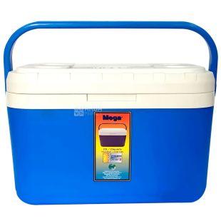 Контейнер изотермический, синий, 22 л, ТМ Mega