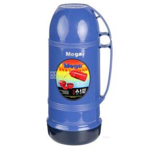 Термос вакуумний універсальний, синій, 1,9 л, ТМ Mega