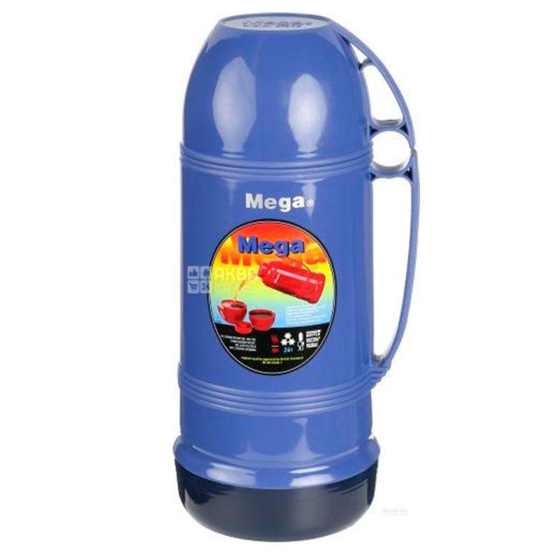 Thermos vacuum universal, blue, 1.9 l, TM Mega