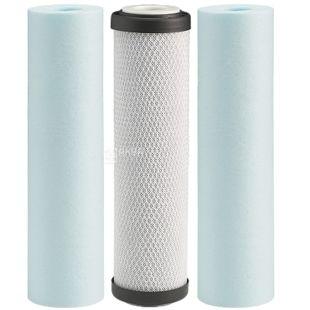 Ecosoft, Набор сменных картриджей для проточных фильтров, 3 шт.