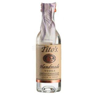 Водка, 0,05 л, ТМ Tito`s