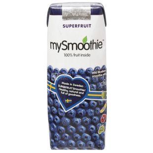 MySmoothie, Blueberry, Черничный, 0,25 л, Майсмузи, Смузи натуральный